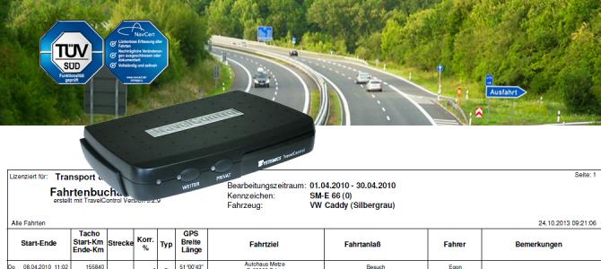 TravelControl personal – neues Fahrzeuggerät