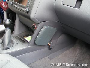 TravelControl Einbau Fahrzeuggeraet VW Touran