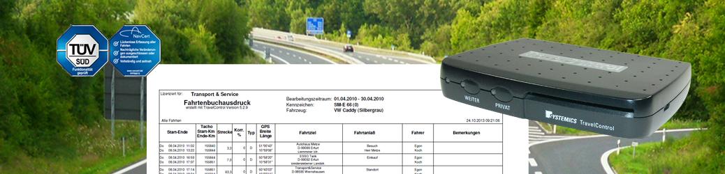 Elektronisches Fahrtenbuch TravelControl