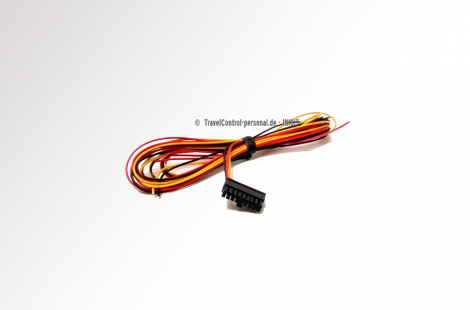 TravelControl Anschluss Kabel Fahrzeuggerät - Kabel, 3-polig (Plus [30], Minus [31], Zündung [15]), Länge ca. 1,30m
