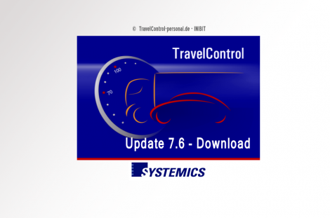 TravelControl Software Update 7.6 Download